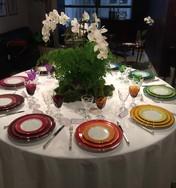 Poc a Poc Limoges Porcelain Dinner Service