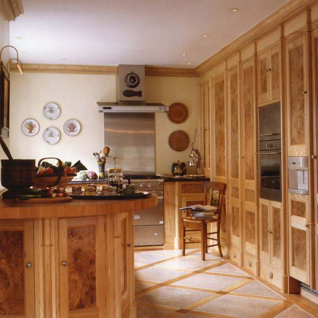 luxury kitchen designed by Meltons