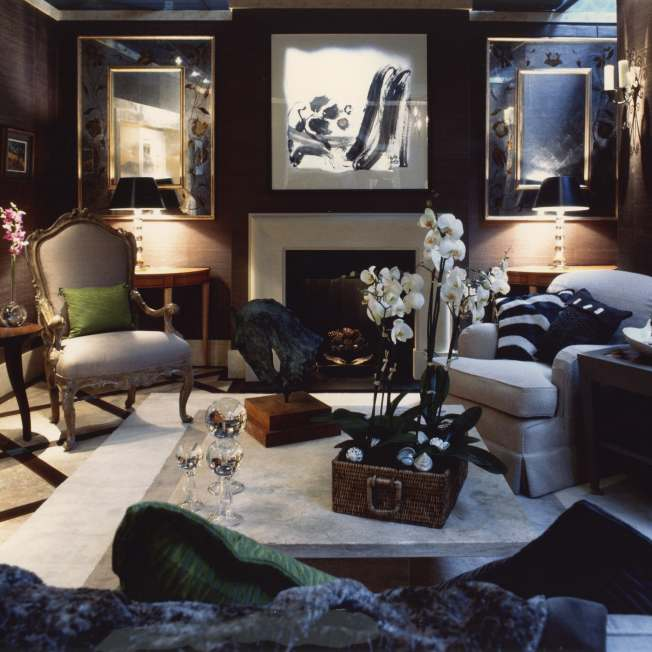 Luxury living room designed by Meltons