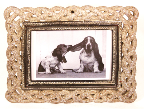 Rope photo frame meltons Rope photo frame