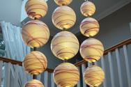 Contemporary Glass 'Chandelier'