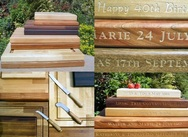 Wooden Chopping Boards - with inscriptions