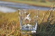 Set of 6 Engraved Tumblers with different  Game Birds