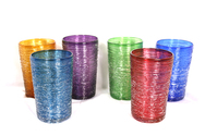 Set of 6 Tornado Tumblers by Bob Crooks