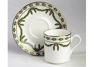 Couronne Coffee Cup & Saucer - Set of 4