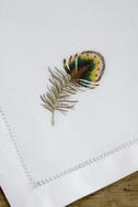 Pheasant Feather Napkins