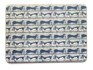 Set of 4 Melamine Mats - Antique Paper - Dogs