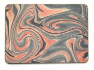 Set of 4 Melamine Mats - Different Marbleised Papers