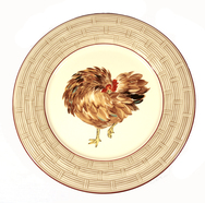 Set of 4 Plates - Bocage