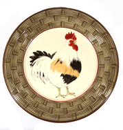 Set of 4 Plates - Bronze