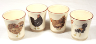 Set of 4 Egg Cups - Bocage