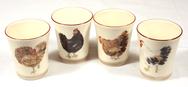 Set of 4 Egg Cups - Bocage