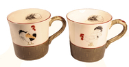 Set of 4 Mugs - Bronze