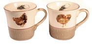 Set of 4 Mugs - Bocage