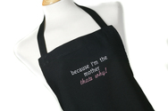 Bespoke Embroidered Apron