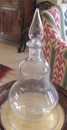Pair of Glass Apothocary  Bottle