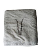 Pair of Ski Bath Towels