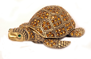 Pill Box - Jewelled Turtle