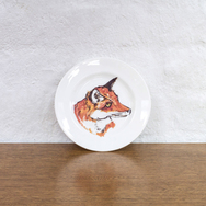Set of 4 Fox Plates