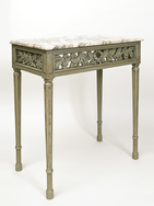 Console Table with decorative frieze