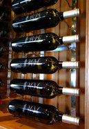 Vintage Wine Storage Wall Rack