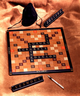 Luxury Leather Scrabble Set