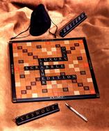 Luxury Leather Scrabble Set