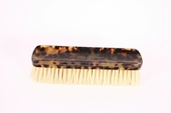 Faux Tortoise Shell Clothes' Brush