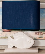 St Pierre Fish Lamp and Shade