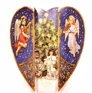 Heart Shaped Advent Calendar
