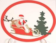 Hand Cut Christmas Mobiles
