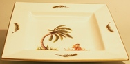 Square Monkey & Palm Tree Dish