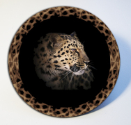 Leopard Table Mats in Acrylic