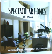 Hardback Book:  Spectacular Homes of London