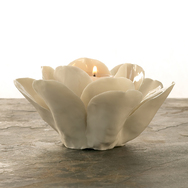 Rose Tealight in Porcelain