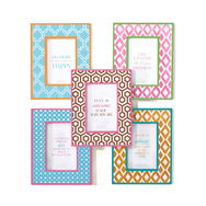 Chit Chat Patterned Photo Frame