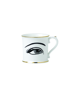 Eye Bone China Coffee Mugs - Set of 4