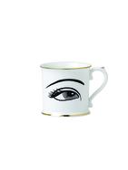 Eye Bone China Coffee Mugs - Set of 4
