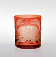 Set of 4 Crab Tumblers