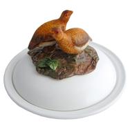 Partridge Faience Bowl