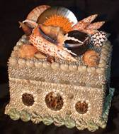 Decorative Hand Made Shell Box
