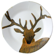 Stag's Head Table Plate - Set of 4