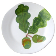 Oak Leaf & Acorn Table Plates - Set of 4