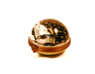 Limoges Hedgehog Pill Box