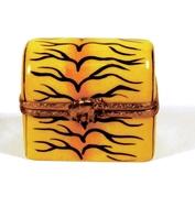 Limoges Tiger Skin Pill Box