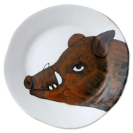 Wild Boar Plates - Set of 4