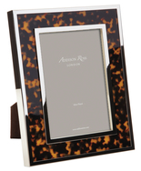 Faux Tortoise Shell Photograph Frame
