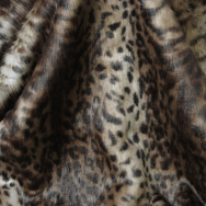 Faux Fur Ocelot Throw