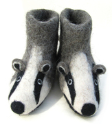 Billie the Badger Slippers