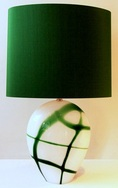 Paxos Lamp - Indigo Blue or Forest Green